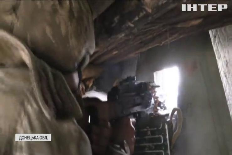 Події на Сході: ворог бив із заборонених мінометів поблизу Мар'їнки та Красногорівки
