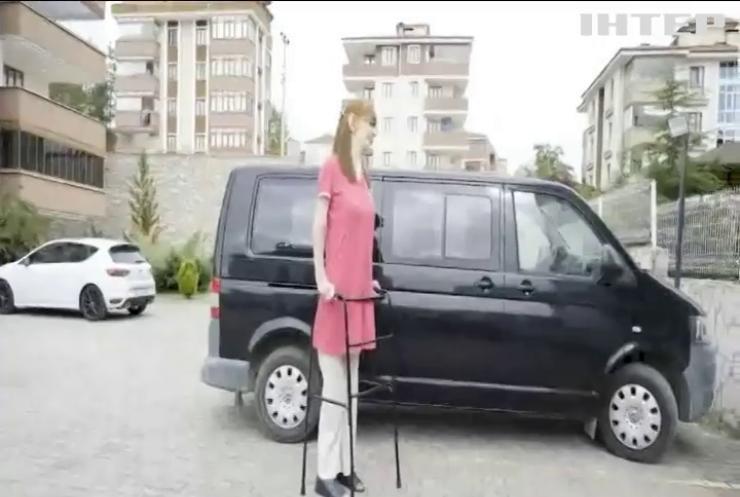 Найвищою жінкою у світі стала 25-річна туркеня