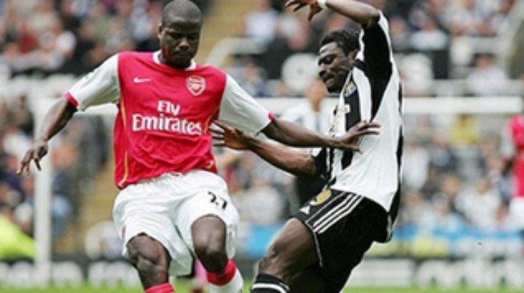 Арсенал ньюкасл 2007 год