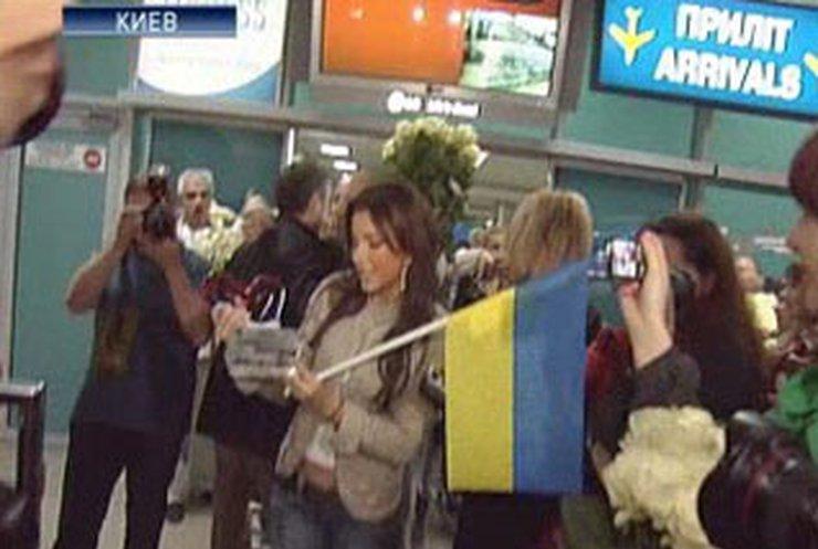 """Ани Лорак получила """"сердце"""" - неофициальную награду """"Евровидения"""""""