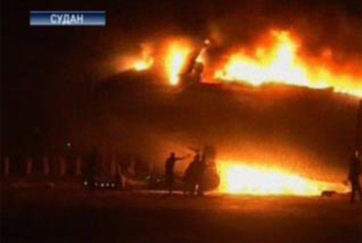 В Судане разбился пассажирский самолет с 217 людьми на борту