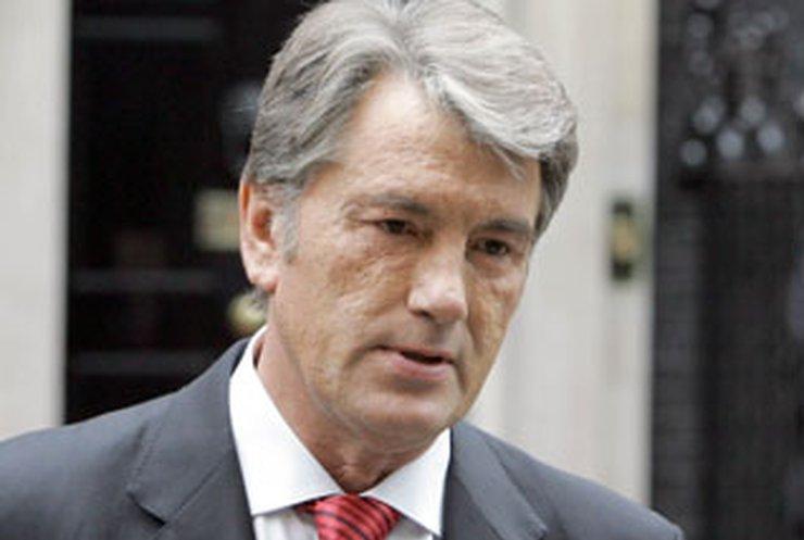 Ющенко провел консультации о роспуске парламента