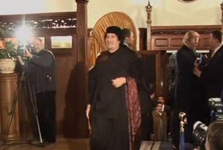 Каддафи посетил Москву