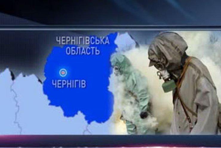 На заводе в Чернигове произошел выброс аммиака