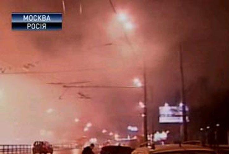 В Москве горел авиационный институт