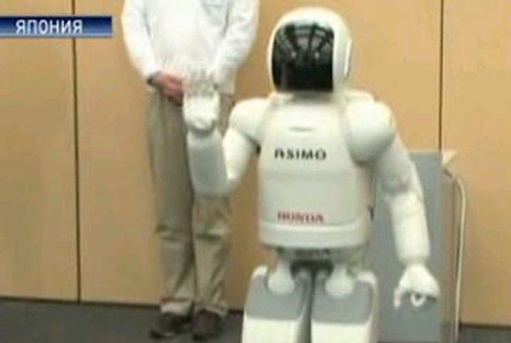 Японский робот управляется силой мысли