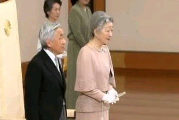 Император Японии празднует золотую свадьбу
