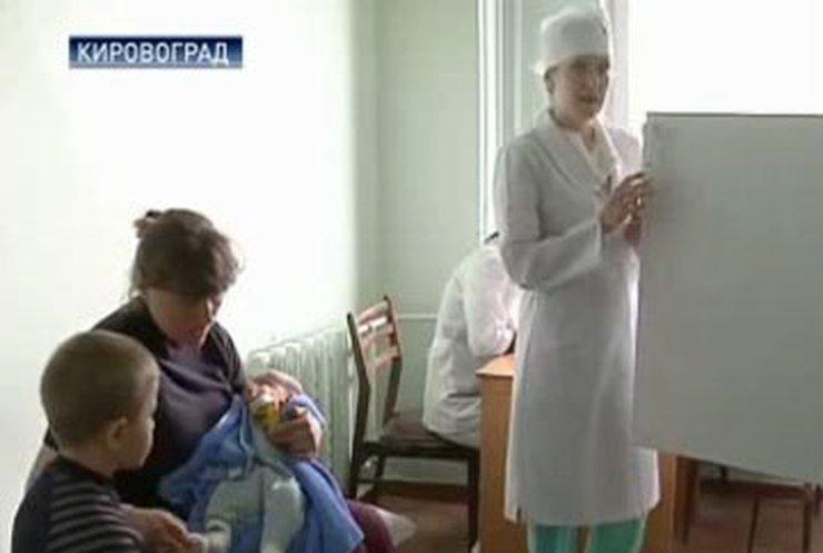 В Кировограде закончились запасы вакцин для детей