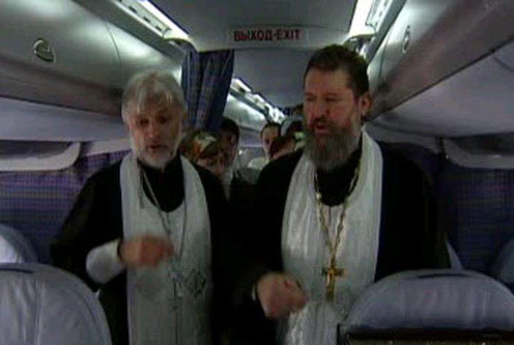 Православная церковь освятила Ан-148