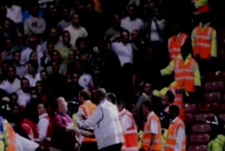 В Лондоне произошла массовая драка футбольных фанатов
