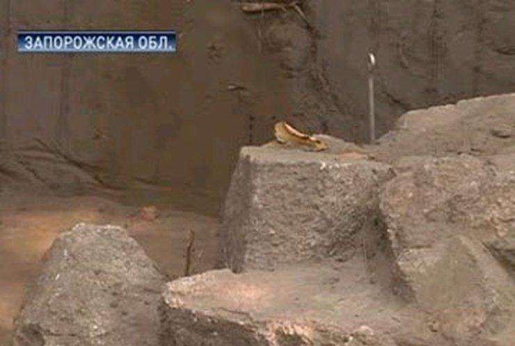 На Хортице обнаружен храм возрастом 4000 лет