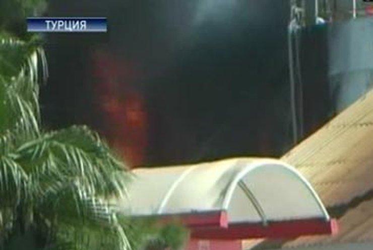 В порту Антальи прогремел взрыв
