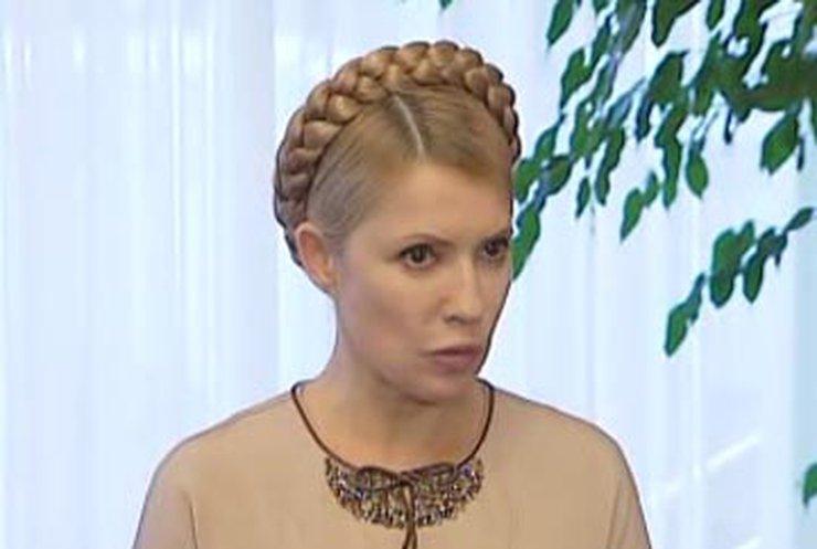 """Тимошенко создала комиссию по расследованию """"откатов"""" в медицине"""