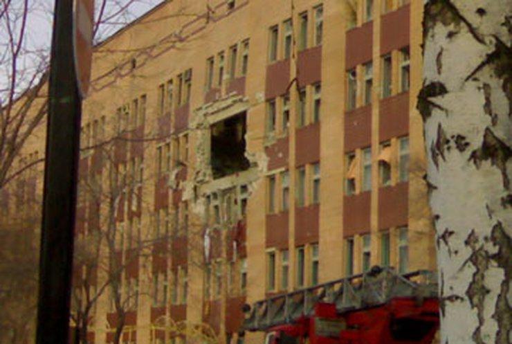 В луганской больнице произошел мощный взрыв. Есть жертвы