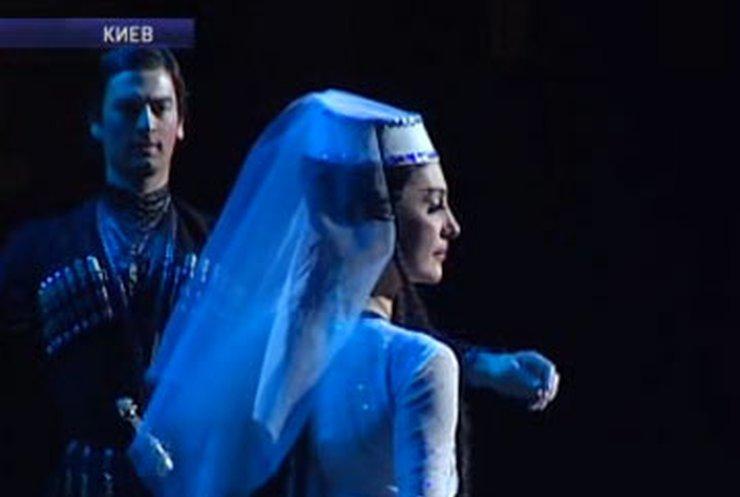 "Боги грузинского танца - ""Сухишвили"" - покорили Киев"