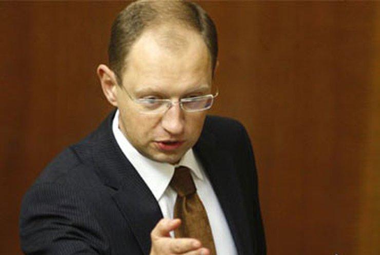 Яценюк отказался от портфеля в Кабмине и уходит в оппозицию