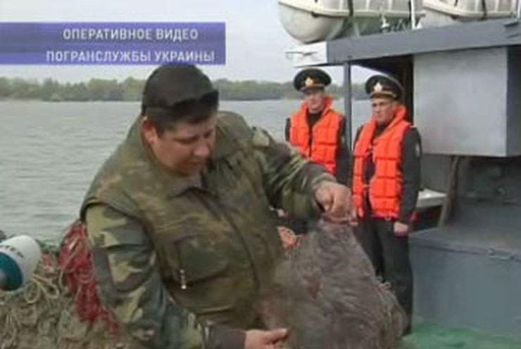 Турецкие браконьеры ловили рыбу у побережья Украины
