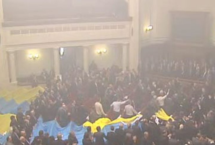 Против Парубия и Грымчака в связи с событиями в ВР возбудили дело