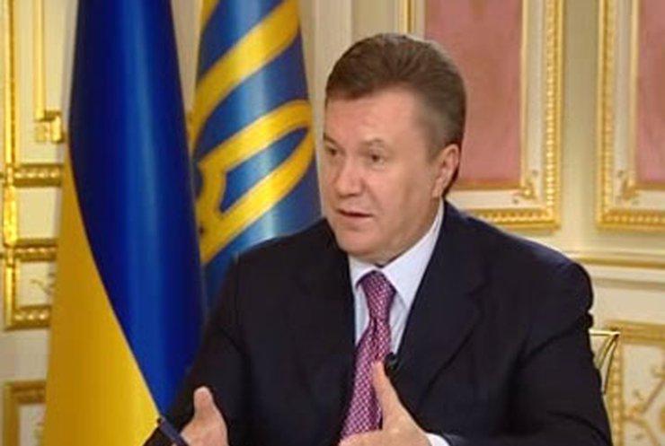Реформы начнутся в 2011 году: Интервью Януковича