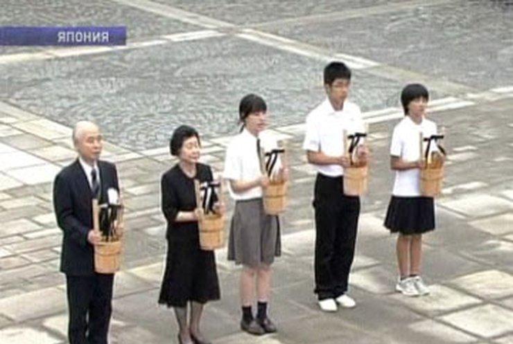 В Нагасаки почтили память жертв атомной бомбардировки