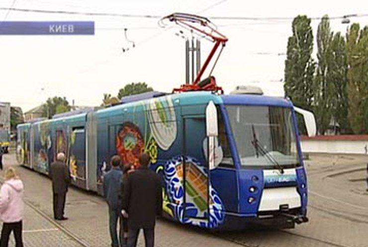 В Киеве запустили скоростной трамвай