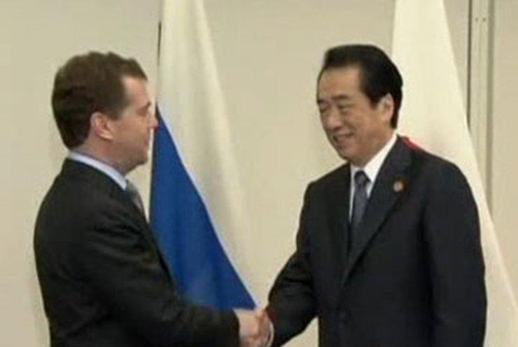 Медведев хочет дружить с Японией
