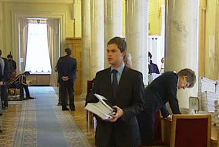Парламентарии целый день рассматривали проект Налогового кодекса