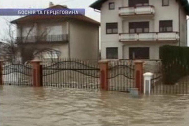 Балканы страдают от сильных наводнений