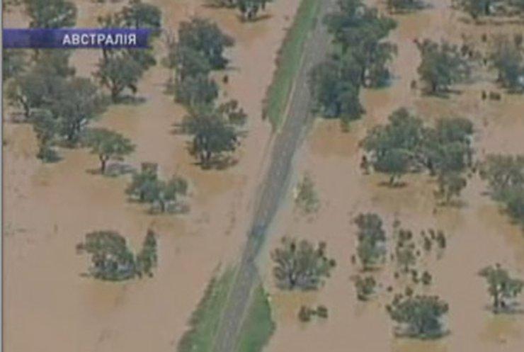 Австралия страдает из-за наводнений