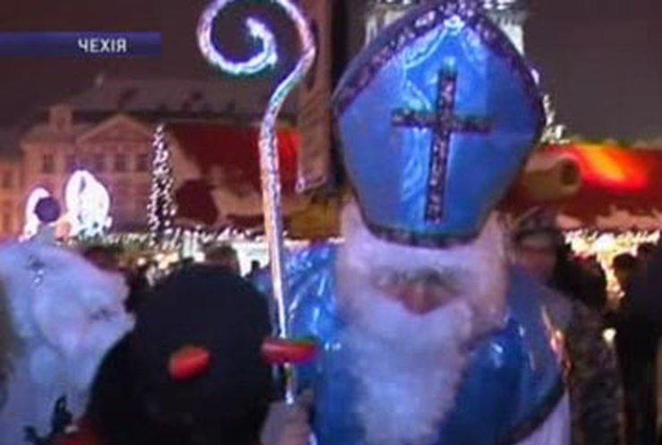 Святой Николай уже порадовал чешских детей подарками