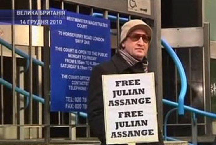 """Основатель сайта """"Викиликс"""" сегодня может оказаться на свободе"""