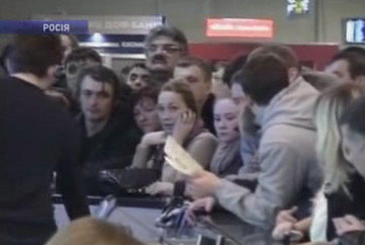 У пассажиров аэропортов Домодедово и Шереметьево лопается терпение