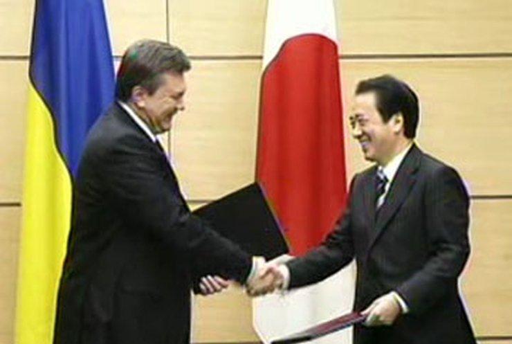 Виктор Янукович встретился с премьером Японии