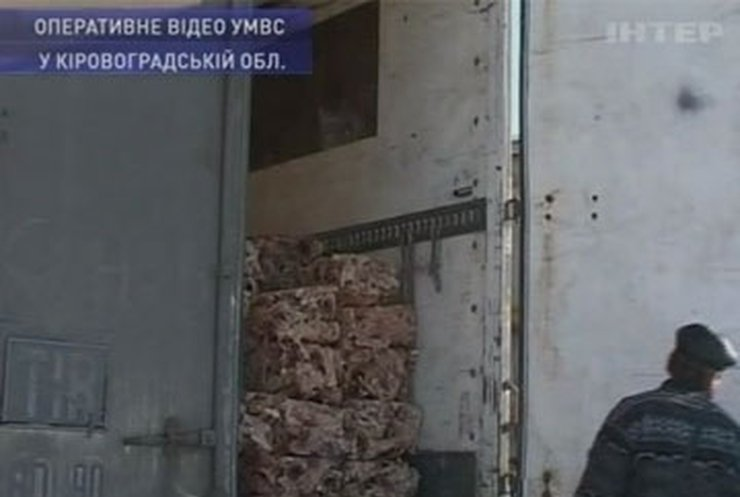 На Кировоградщине задержана партия опасной курятины