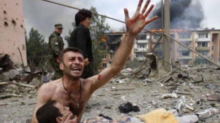 фото войны 2008 в грузии