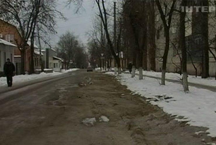 Кировоградские дороги становятся непригодными после ремонта теплосетей