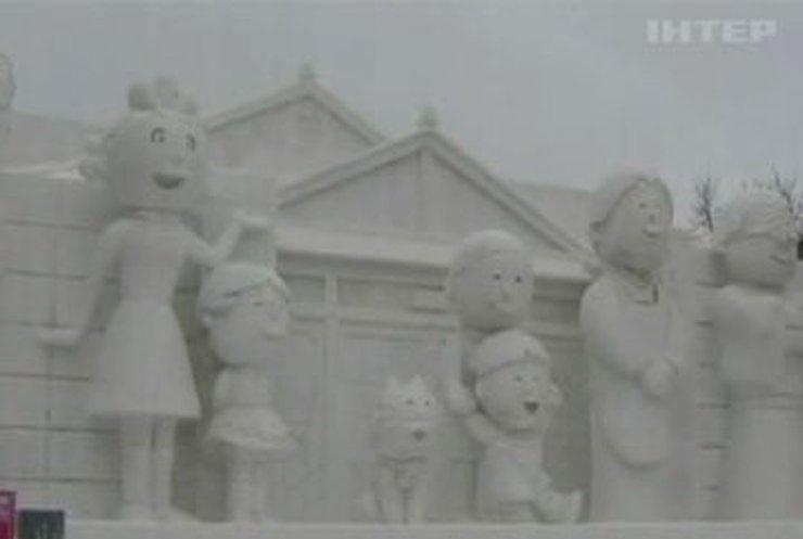 В Японии открыли музей снежных скульптур