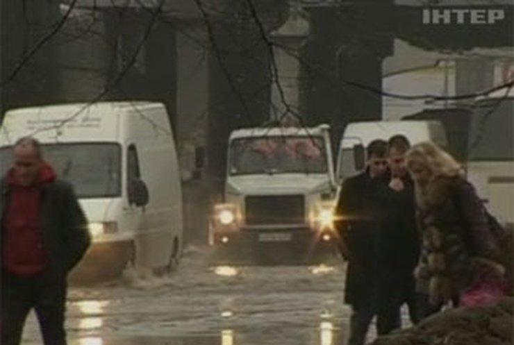 Жители Калининграда страдают от сильного наводнения