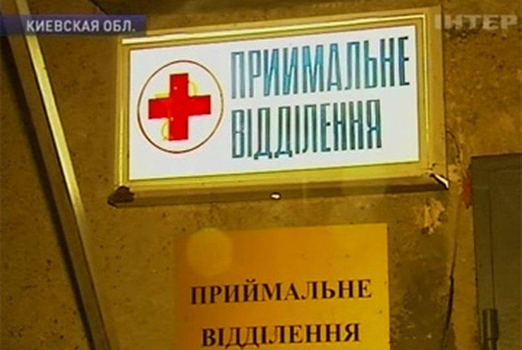 В Киеве врач вывез бездомных пациентов на кладбище