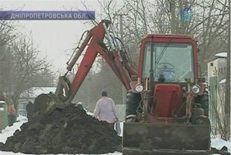 Из-за недобросовестного подрядчика в селе Царичанка нет воды
