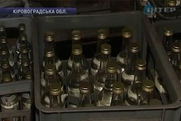 На Кировоградщине обнаружен цех по производству поддельной водки