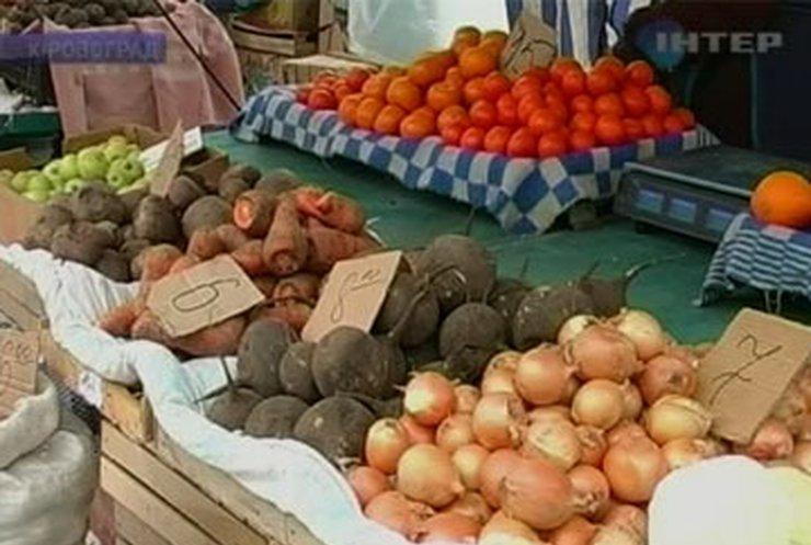В Кировограде ни один из продуктовых рынков не отвечает санитарным нормам