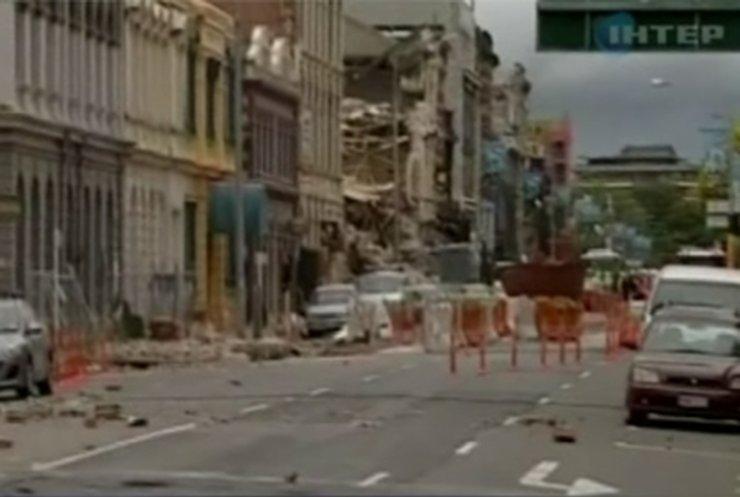 Землетрясение в Новой Зеландии унесло 65 жизней