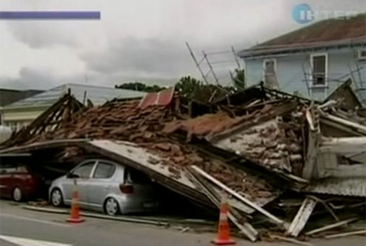 Количество жертв землетрясения в Новой Зеландии растет