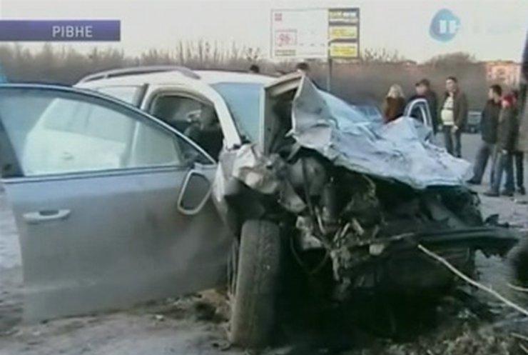 В Ровно произошло серьезное ДТП