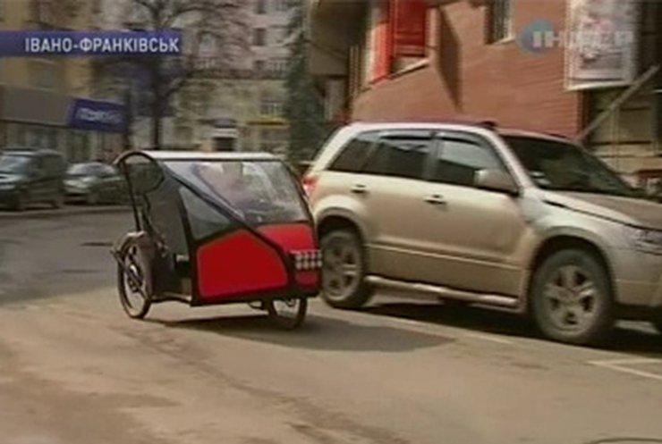 Житель Ивано-Франковска создал уникальный электромобиль