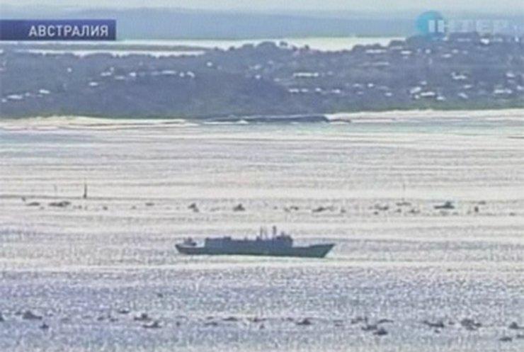 Австралийцы затопили боевой фрегат, чтобы сделать дом для рыб