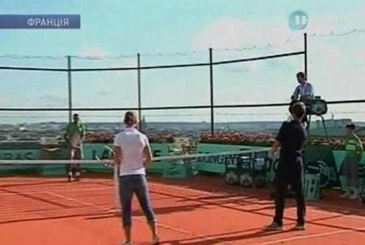 Париж готов к проведению теннисного турнира Роланд Гаррос