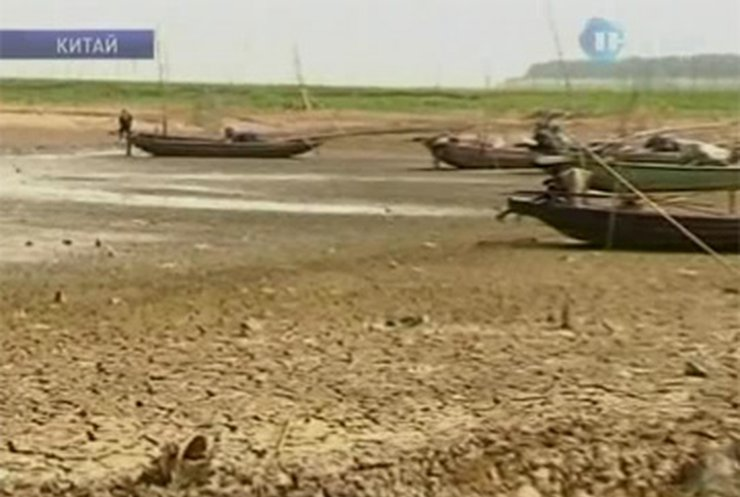 Восточный Китай страдает от засухи