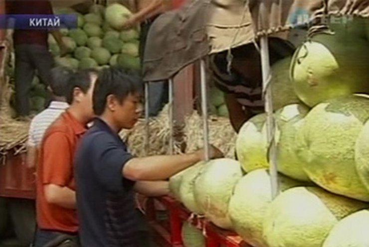 Китайские арбузы стали опасными из-за огромного количества нитратов